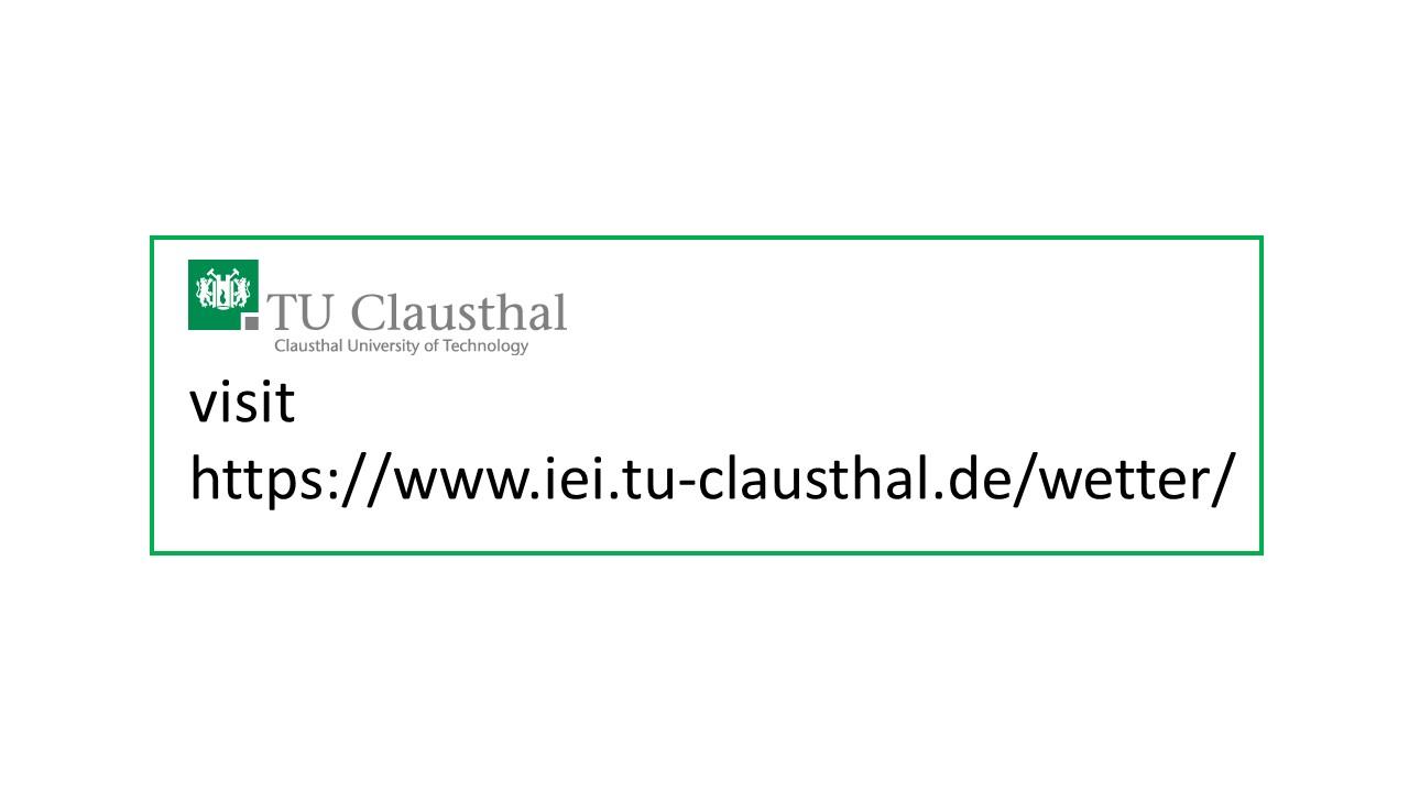 Clausthal-Zellerfeld University -- Institut für Elektrische Informationstechnik